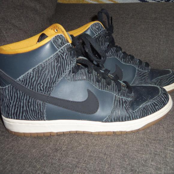 Top Dunk Zebra 9 Nike High Sneakers 5 rxBdoCe